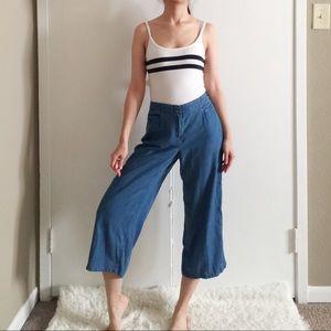 J.Jill Lightweight Soft Denim Trousers.-C8.